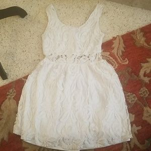 Wet Seal white dress size small